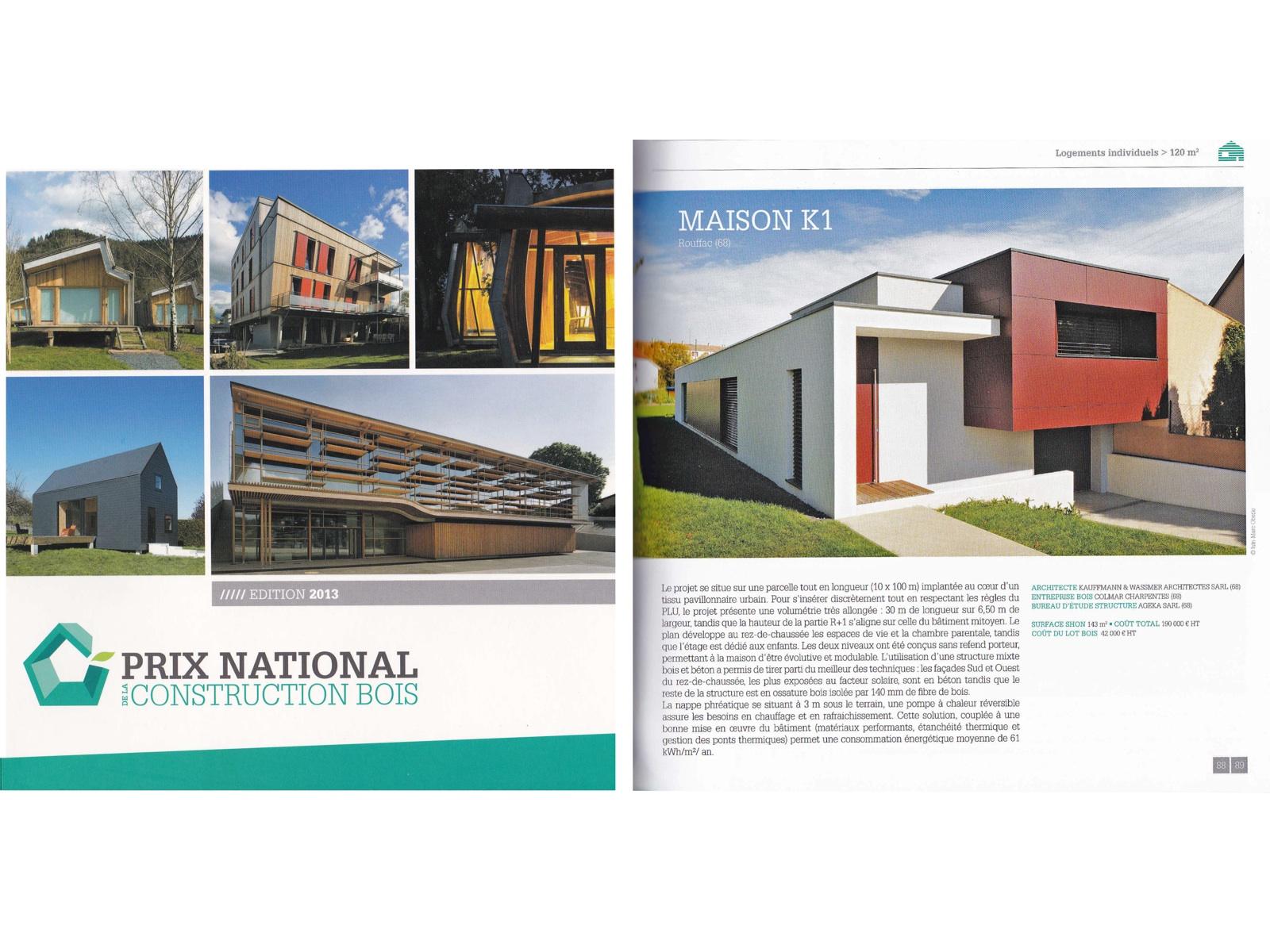 Articles de presse architecture for Construction prix