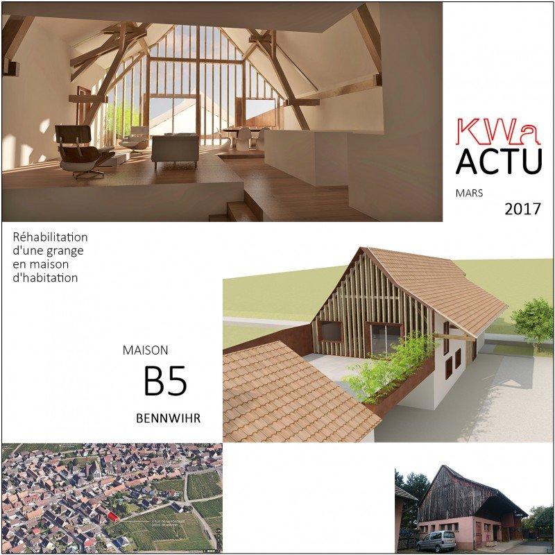 actualit s de l 39 agence d 39 architecture kauffmann et wassmer. Black Bedroom Furniture Sets. Home Design Ideas